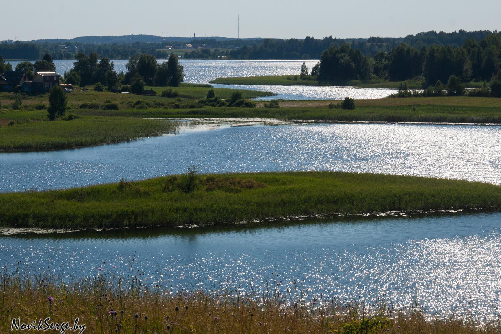 Браславские озёра, городище, Слобода, Недрово, Несьпиш