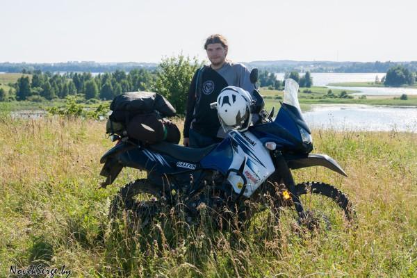 Кавасаки KLR, Браславские озёра